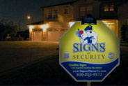 Security Sign Lights