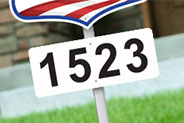 Address Plates & Numbers